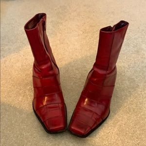 Bakers Red Boots